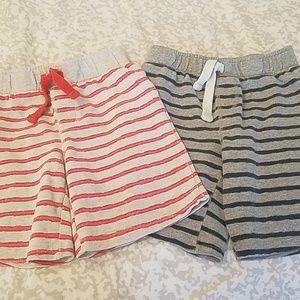 2 boys shorts